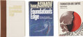 Books:Fiction, Isaac Asimov. Three Foundation Titles, One a Limited EditionSigned by Asimov,... (Total: 3 Items)