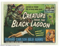 "Movie Posters:Horror, Creature From the Black Lagoon (Universal International, 1954). Title Card (11"" X 14""). The last of the great Universal Mons..."