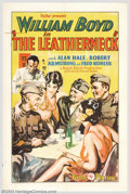 """Movie Posters:War, The Leatherneck (Pathe', 1929). One Sheet (27"""" X 41""""). A unique,innovative feature of this 1920s film is that it was shot f..."""
