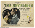 "Movie Posters:War, Sky Raider, The (Associated Exhibitors, 1925). (2) Lobby Cards (11""X 14""). Captain Charles Nungesser of France was one of t... (Total:2 pieces Item)"