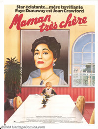 "Mommie Dearest (Paramount, 1981). French Poster (47"" X 63""). This film is based on Christina Crawford's scathi..."