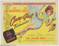 "Movie Posters:Comedy, Cover Girl (Columbia, 1944). Lobby Card (11"" X 14""). Thiscomedy/musical showcases the talents of Rita Hayworth and GeneKel..."
