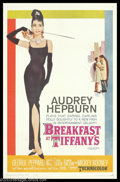 "Movie Posters:Comedy, Breakfast At Tiffany's (Paramount, 1961). One Sheet (27"" X 41"").This is Blake Edwards' charming romantic comedy about socia..."