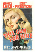 """Movie Posters:Film Noir, This Gun For Hire (Paramount, 1942). One Sheet (27"""" X 41""""). This isone of the seminal films noir as a hit-man named Rav..."""
