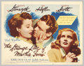 """Movie Posters:Film Noir, The Strange Love of Martha Ivers (Paramount, 1946). Half Sheet (22"""" X 28""""). Barbara Stanwyck, who rose to fame in pre-code f..."""