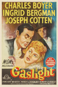"Movie Posters:Film Noir, Gaslight (MGM, 1944). Australian One Sheet (27"" X 41""). It was afilm unlike any director George Cukor had made before, but ..."