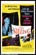 "Movie Posters:Film Noir, The Killing (United Artists, 1956). One Sheet (27"" X 41""). Thisfilm is based on the novel ""Clean Break"" by Lionel White, an..."