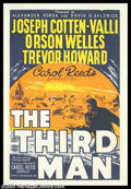 """Movie Posters:Film Noir, Third Man, The (British Lion Film, 1949). British One Sheet (27""""40""""). Carol Reed's """"The Third Man"""" is one of the more odd s..."""