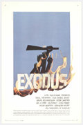 """Movie Posters:Drama, Exodus (United Artists, 1960). One Sheet (27"""" X 41""""). Based on the novel by Leon Uris, this epic film stages the beginning o..."""