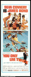 """Movie Posters:Action, You Only Live Twice (United Artists, 1967). Insert (14"""" X 36""""). James Bond starts turning Japanese in this high-tech entry i..."""