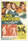 "Movie Posters:Serial, Jack Armstrong, All American Boy (Columbia, 1940). One Sheet (27"" X 41""). This Columbia serial has Jack Armstrong the All Am..."