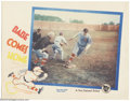 "Movie Posters:Sports, The Babe Comes Home (First National, 1927). Lobby Card (11"" X 14""). Offered in this lot is assuredly one of the best cards f..."