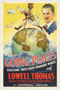 "Movie Posters:Short Subject, Going Places (Universal, 1935). One Sheet (27"" X 41""). Shortsubject One Sheets from the 1930's are far scarcer than feature..."