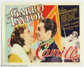 """Movie Posters:Drama, Camille (MGM, 1937). (1) Title Card and (2) Scene Cards (11"""" X 14""""). Prior to the Greta Garbo version, this film had been ma... (Total: 3 items Item)"""