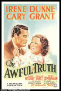 "Movie Posters:Comedy, Awful Truth (Columbia, 1937). Style B One Sheet (27"" X 41""). Afterplaying leading men since the beginning of his career, Ca..."