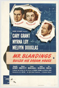 "Movie Posters:Comedy, Mr. Blandings Builds His Dream House (RKO, 1948). One Sheet (27"" X41""). RKO made one of their lasting comedies with ""Mr. Bl..."