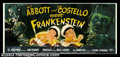 Movie Posters:Comedy, Abbott and Costello Meet Frankenstein (Universal, 1948). 24 Sheet(9' X 20') Perhaps the only surviving copy of this giant a...