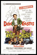 "Movie Posters:Comedy, The Ghost and Mr. Chicken (Universal, 1966). One Sheet (27"" X 41"").Don Knotts plays a newspaper typesetter who wants to be ..."