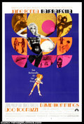 "Movie Posters:Science Fiction, Barbarella (Paramount, 1968). Style B One Sheet (27"" X 41""). Jane Fonda as the voluptuous outer space agent , Barbarella, cr..."