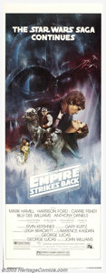 """Movie Posters:Science Fiction, Empire Strikes Back (Twentieth Century Fox, 1980). Insert (14"""" X 36""""). The graphis on this insert closely resemble the Style..."""