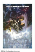 """Movie Posters:Science Fiction, Empire Strikes Back Style (Twentieth Century Fox, 1980). One Sheet (27"""" X 41""""). This particular style One Sheet is very hard..."""