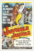 """Movie Posters:Crime, Juvenile Jungle (Republic, 1958). One Sheet (27"""" X 41""""). Slick chicks and assorted sidekicks get in way over their heads whe..."""