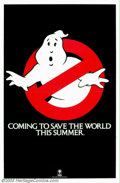 "Movie Posters:Comedy, Ghostbusters (Columbia, 1984). (2) One Sheets (27"" X 41""). IvanReitman directed Bill Murray, Sigourney Weaver, Dan Aykroyd,...(Total: 2 Movie Posters Item)"
