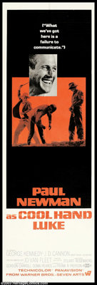 """Cool Hand Luke (Warner Brothers, 1967). Door Panel (20"""" X 60""""). """"What we've got here is a failure to comm..."""