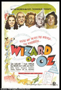 "Movie Posters:Musical, The Wizard of Oz (MGM, 1939). Australian One Sheet (27"" X 40""). This poster is an amazing find that, to our knowledge, has n..."
