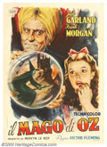 "Wizard of Oz, The (MGM, R-1946). Italian 2 Fogli (39"" X 55""). Based on Frank Baum's classic novel, this timele..."