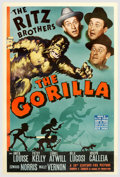 "Movie Posters:Comedy, The Gorilla (20th Century Fox, 1939). (40"" X 60"") Photo Gelatin.The Ritz Brothers take on the case of The Gorilla, a myster..."