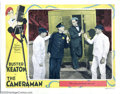 "Movie Posters:Comedy, The Cameraman (MGM, 1928). Lobby Card (11"" X 14""). This was one ofBuster Keaton's best films as he plays a newsreel cameram..."