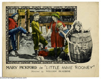 """Little Annie Rooney (United Artists, 1925). (3) Lobby Cards (11"""" X 14""""). America's Sweetheart Mary Pickford wa..."""