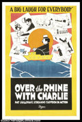 "Movie Posters:Animated, Over the Rhine With Charlie (Universal, 1918). One Sheet (27"" X41""). This cartoon film short ran six minutes and was animat..."