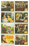 """Movie Posters:Western, My Darling Clementine (20th Century Fox, 1946). Lobby Card Set (11""""X 14""""). John Ford's version of the shootout at the OK Co... (Total:8 pieces Item)"""