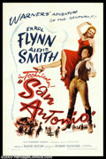 """Movie Posters:Western, Errol Flynn Lot (Warner Brothers, 1945-1950). (2) One Sheets (27"""" X41""""). Errol Flynn would trade in his sword for a gun in ... (Total:2 items Item)"""