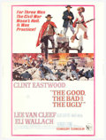 "Movie Posters:Western, Good, the Bad, and the Ugly, The (United Artists, 1968). (30"" X40""). Sergio Leone's Civil War trilogy staring Clint Eastwoo..."