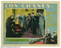 "Movie Posters:Crime, While the City Sleeps (MGM, 1928). Lobby Card (11"" X 14""). Here's another great scene card from the set. This one shows Chan..."