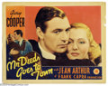 "Movie Posters:Comedy, Mr. Deeds Goes to Town (Columbia, 1936). Lobby Card (11"" X 14"").Winner of the Best Director Oscar for its creator, Frank Ca..."