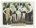 """Movie Posters:Drama, Broadway (Universal, 1929). (2) Lobby Cards (11"""" X 14""""). Universal released this big budget black-and-white film with Moviet... (Total: 2 items Item)"""