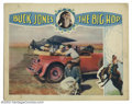 "Movie Posters:Western, Big Hop, The (Buck Jones Productions, 1928). (2) Lobby Cards (11"" X14""). Buck Jones was an expert rider and roper. After se... (Total:2 pieces Item)"