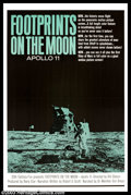 "Movie Posters:Miscellaneous, Footprints on the Moon: Apollo 11 (20th Century Fox, 1969). One Sheet (27"" X 41""). Great documentary film that chronicles th..."