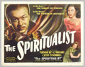 """Movie Posters:Fantasy, The Spiritualist (Eagle Lion, 1948). Half Sheet (22"""" x 28"""").Interesting film that deals with the phony spiritualist racket ..."""