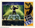"Movie Posters:Horror, King Kong (RKO, R-1942). Lobby Card (11"" X 14""). He was called the ""eighth wonder of the world"" and the movie- going world c..."