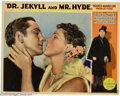 "Movie Posters:Horror, Dr. Jekyll and Mr. Hyde (Paramount, 1931). Lobby Card (11"" X 14""). Fredric March gave one of his most memorable performances..."