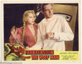 """Movie Posters:Horror, Frankenstein Meets the Wolfman (Realart, R-1949). (2) Lobby Cards (11"""" X 14""""). With Chaney occupied as the Wolfman, Universa... (Total: 2 Movie Posters Item)"""