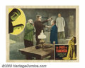 """Movie Posters:Horror, Ghost of Frankenstein (Realart, R-1951). (2) Lobby Cards (11"""" X 14""""). Lon Chaney made his only appearance as The Monster in ... (Total: 2 Movie Posters Item)"""