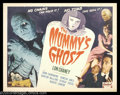 "Movie Posters:Horror, Mummy's Ghost, The (Realart, R-1953). Half Sheet (22"" X 28""). Here's another great format for this installment of the Mummy ..."