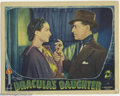 "Movie Posters:Horror, Dracula's Daughter (Universal, 1936). Lobby Card (11"" X 14""). Edward Van Sloan returns in his Dracula role as tireless vampi..."