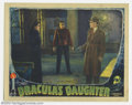 """Movie Posters:Horror, Dracula's Daughter (Universal, 1936). Lobby Card (11"""" X 14""""). Another great scene card that features three of the principle ..."""